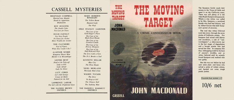 The Moving Target - UK Dust Jacket