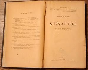 Week5-Henri de Lubac-Robert Gotcher-Surnaturel