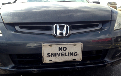 NoSniveling